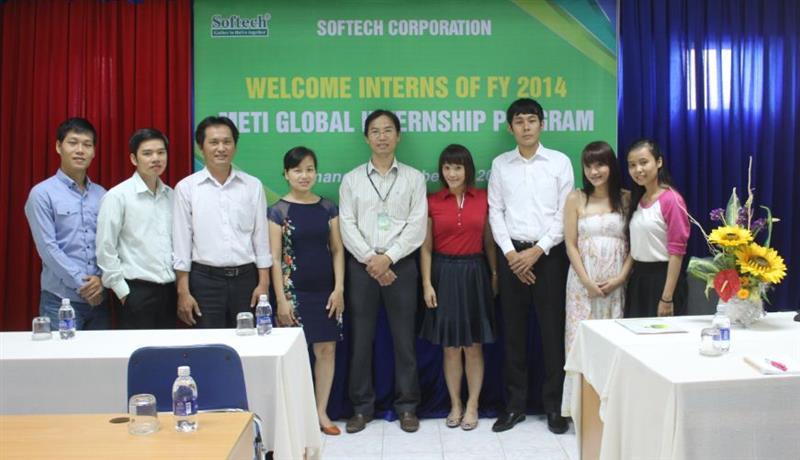SOFTECH tiếp nhận thực tập sinh Nhật Bản trong khuôn khổ Chương trình thực tập quốc tế METI – 2014