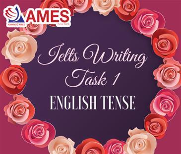 Cách sử dụng thì của động từ trong IELTS Writing Task 1